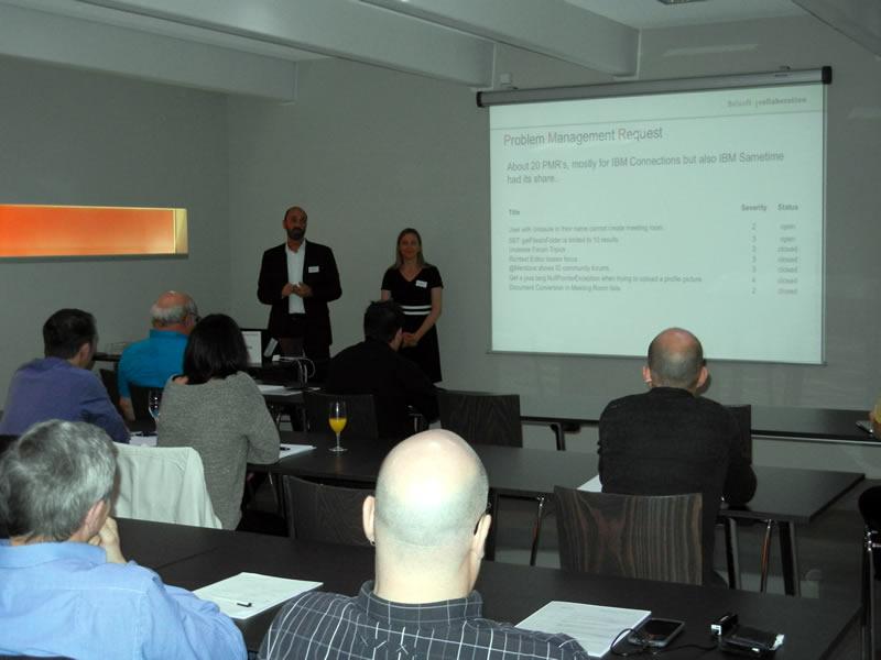 Sandra Bühler und Andreas Ponte, Belsoft Collaboration