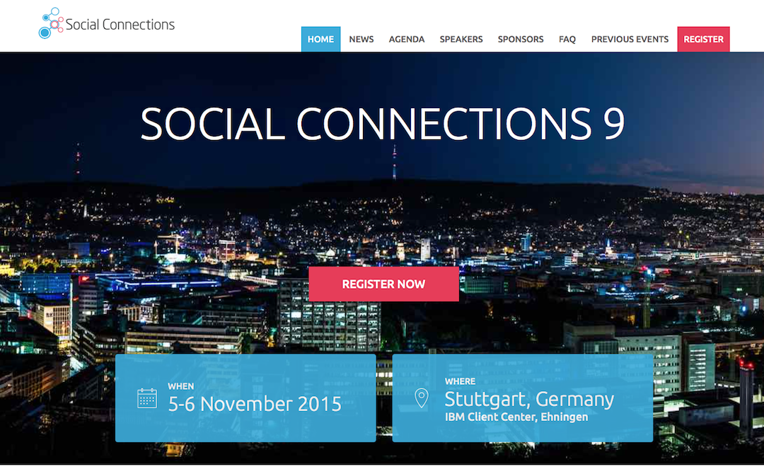 Belsoft Collaboration mit Vorträgen an der Social Connections 9