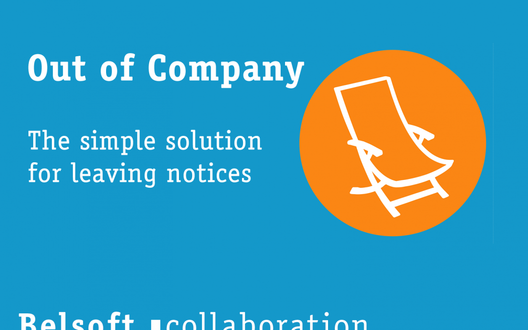 Out of company – Our solution for departure notices