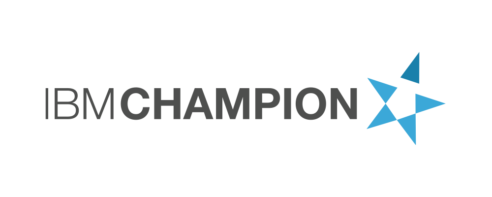 IBM Champion 2018 recognition