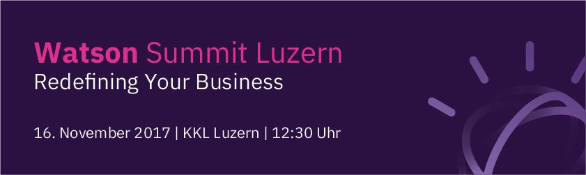 Watson Summit Luzern