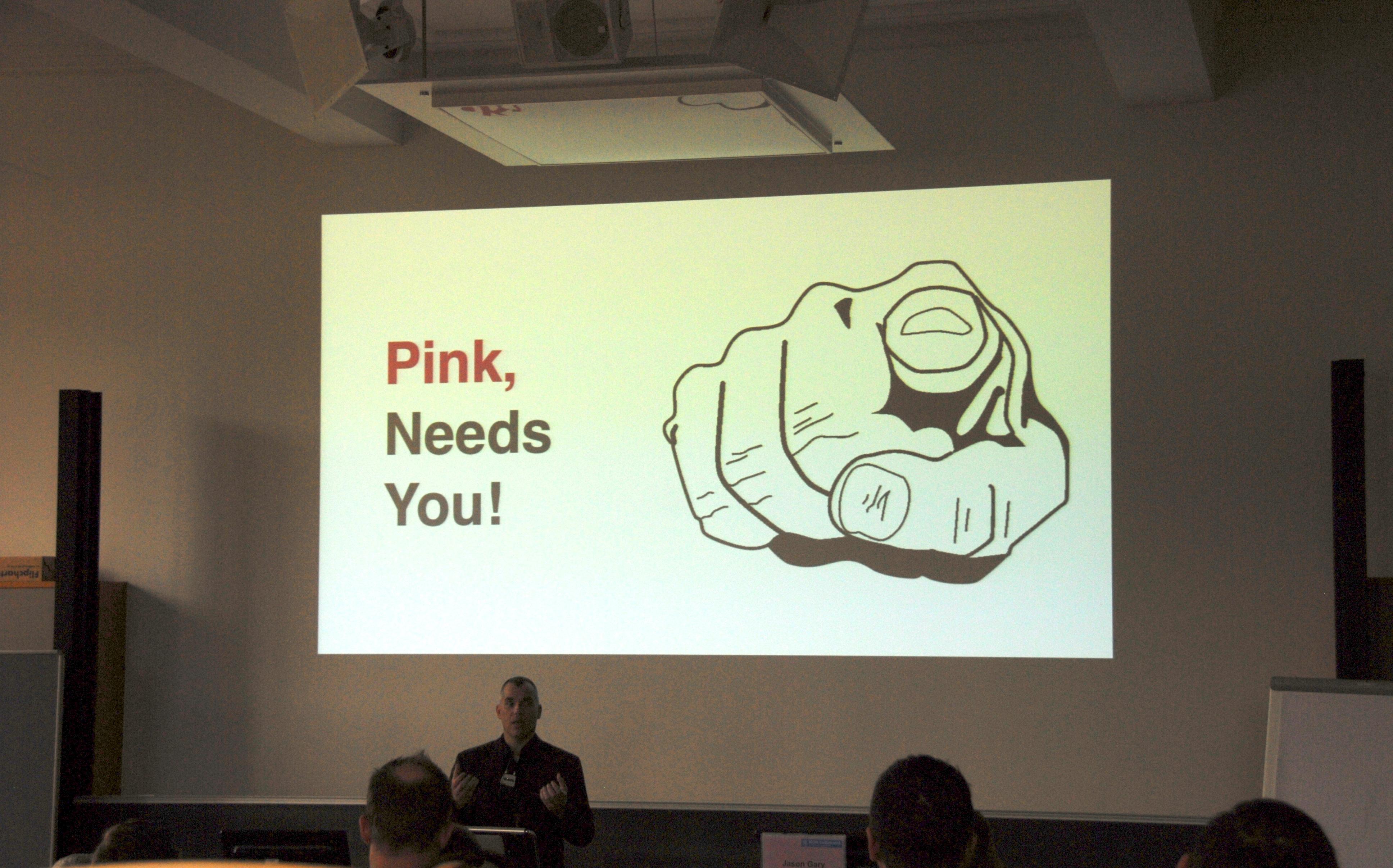 Pink needs you!