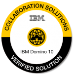 ibm notes and domino v10 verfied solution badge
