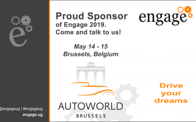 Engage – We are proud sponsors