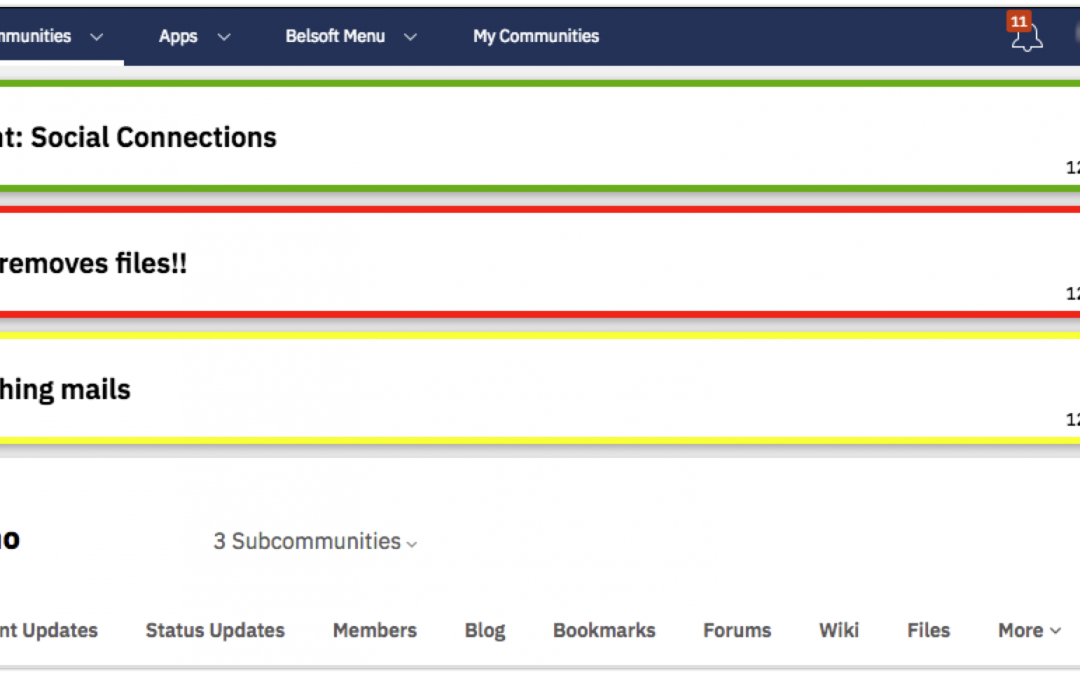 Add-ons for HCL Connections – Notifier