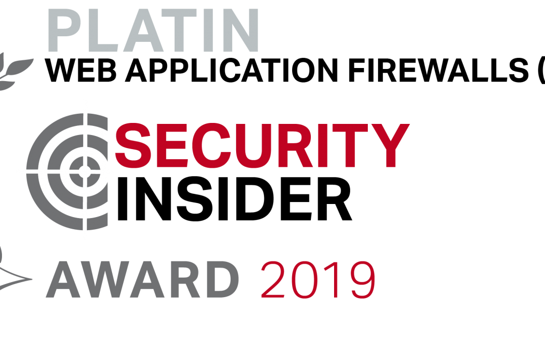 Security Insider Award 2019 for Rohde & Schwarz CS