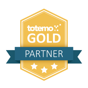 totemo Gold Partner Badge