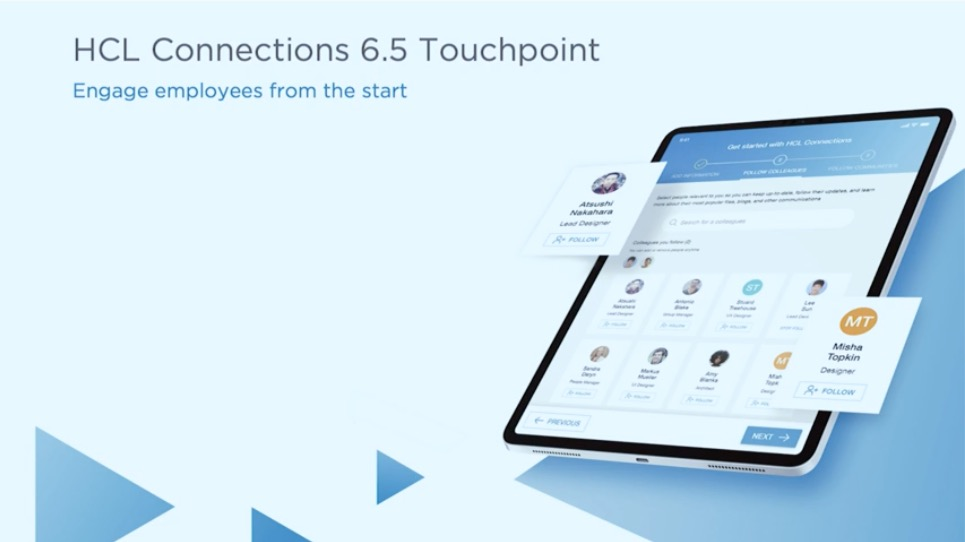 Connections Touchpoint